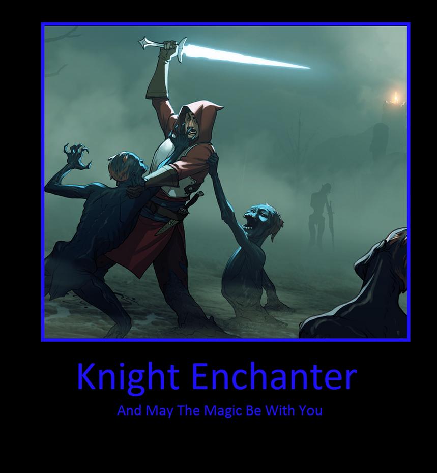 Knight Enchanter By Darkkomet On Deviantart