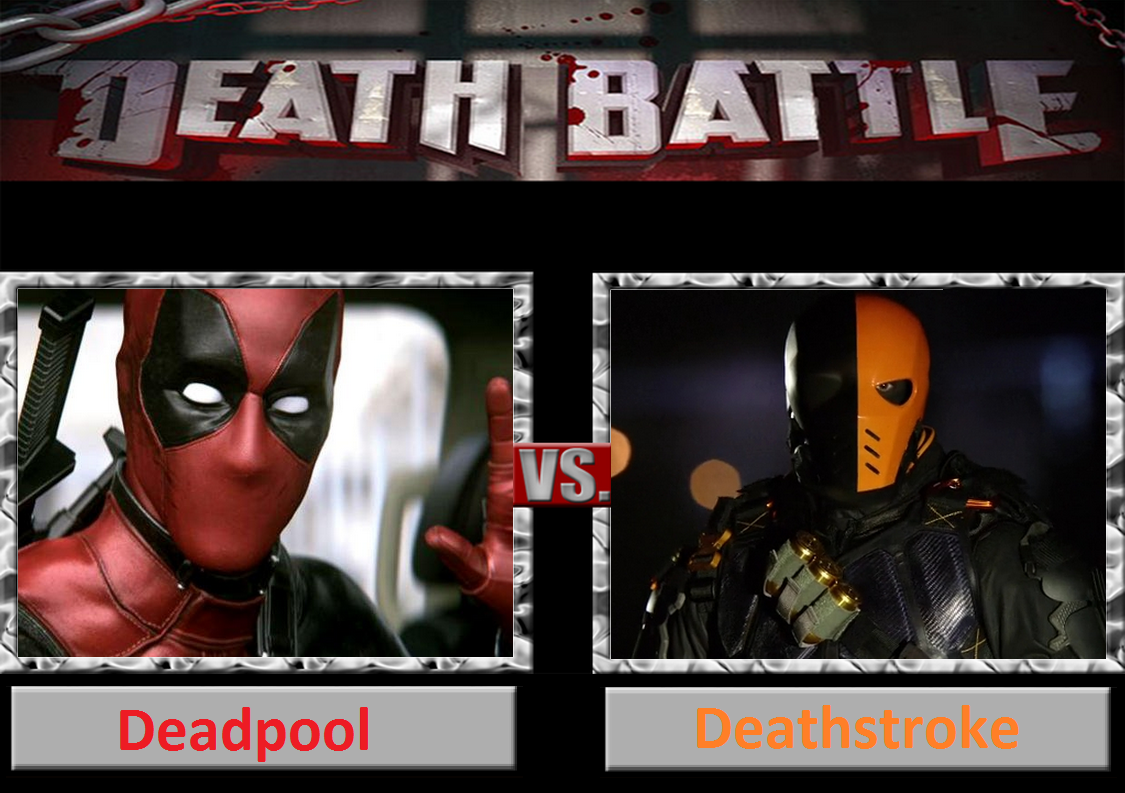 Death Battle Deadpool Vs Deathstroke By DarkKomet