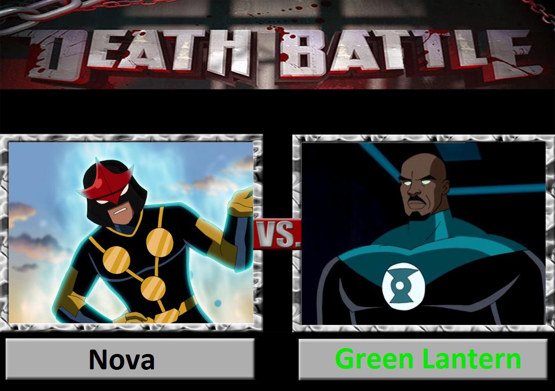 Death Battle: Nova Vs Green Lantern by DarkKomet on DeviantArt