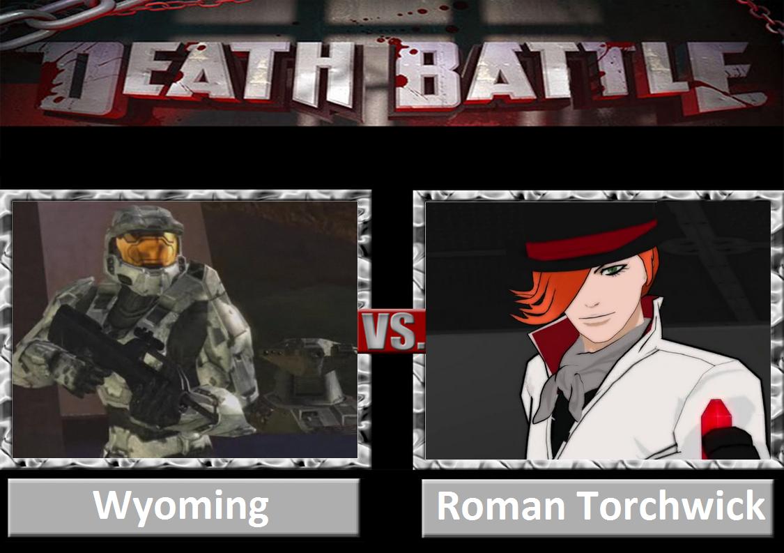 Death Battle: Wyoming Vs Roman Torchwick by DarkKomet on