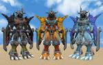 WarGreymon X Trio