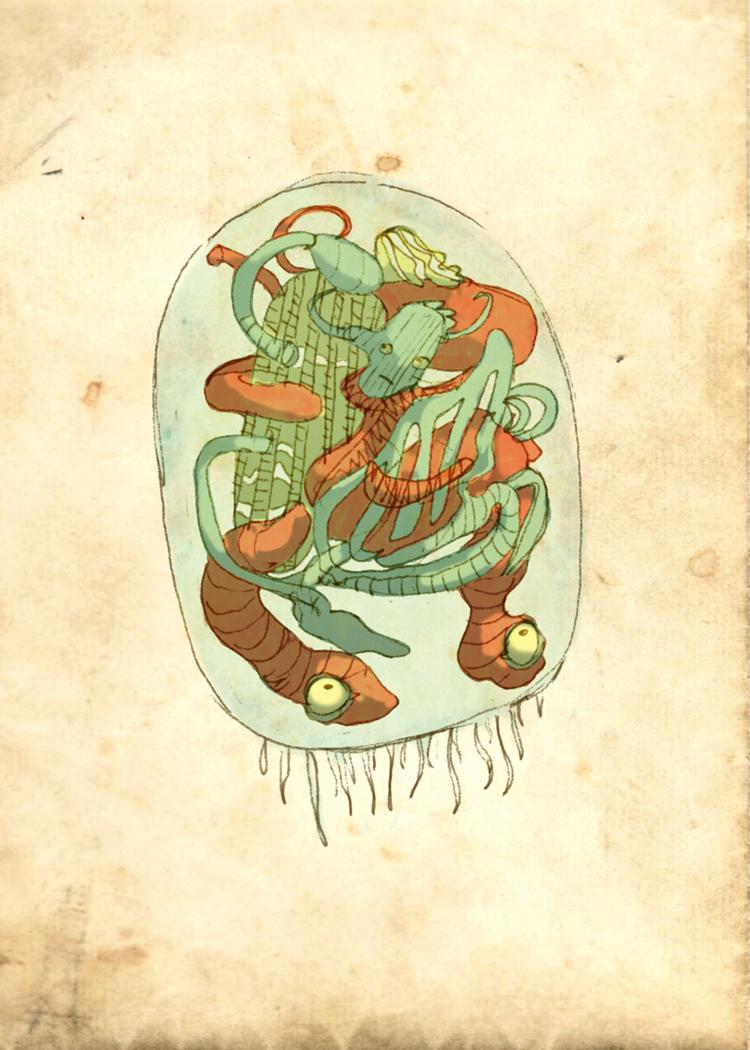 anatomy lesson by octopus-interphone on DeviantArt