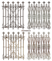decorative fences by Lyotta