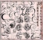 38 decorative brushes
