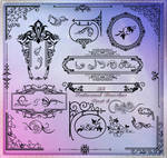 33 Patterned Brushes Part 4