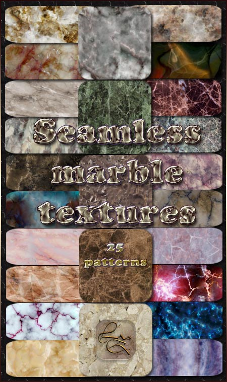Seamless marble textures by Lyotta