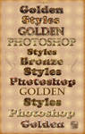 Golden and brilliant styles