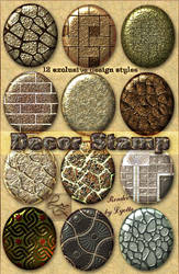 Design decorative stamped styles