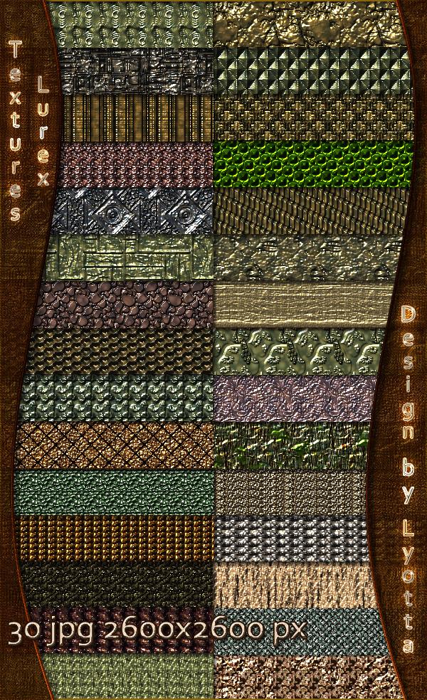 Design Metal Lurex Textures by Lyotta