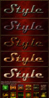 Styles for Photoshop Metal and Stone 2