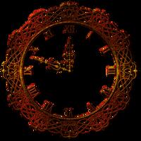 Decorative wall clock by Lyotta