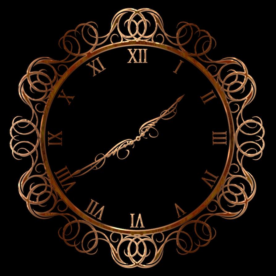Decorative wall clock by Lyotta on DeviantArt