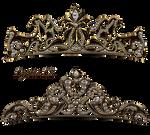 Royal jewelry tiara