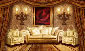 Cozy living room by Lyotta