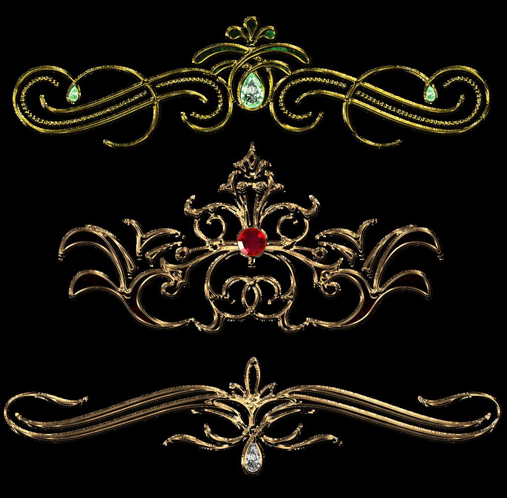 Vintage decor design by lyotta on deviantart for Decoration png
