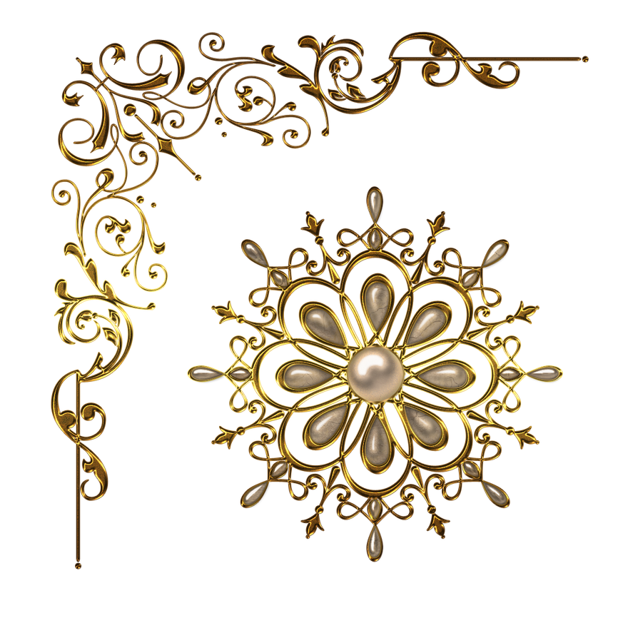 Decorative Design Png Vintage Decor Design Corners