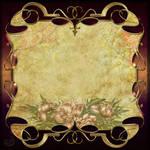 Vintage decor frame background