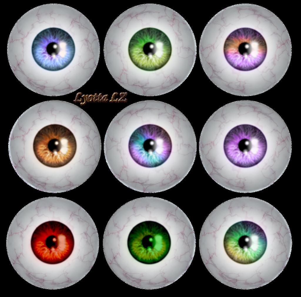 Pupil of the eye by Lyotta