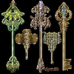 Gold keys2 Lyotta by Lyotta