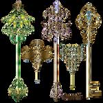 Gold keys2 Lyotta