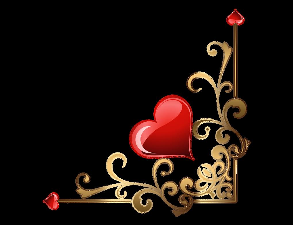 Hearts Corners Lz 001 by Lyotta on DeviantArt