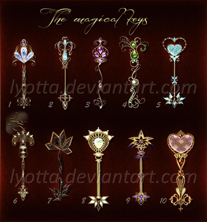 The magical keys set 03 lyotta OPEN