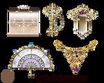 Magic items set lyotta LZ