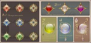 Magic stones pointers path
