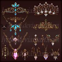 Design Jewelry Gold Pendants Necklace 013