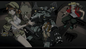 PSP Wallpaper Metal Slug by OutRunner1989