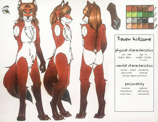 Feven Reference (2019) by Luneroom
