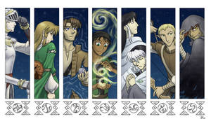 Shades of Veil bookmarks