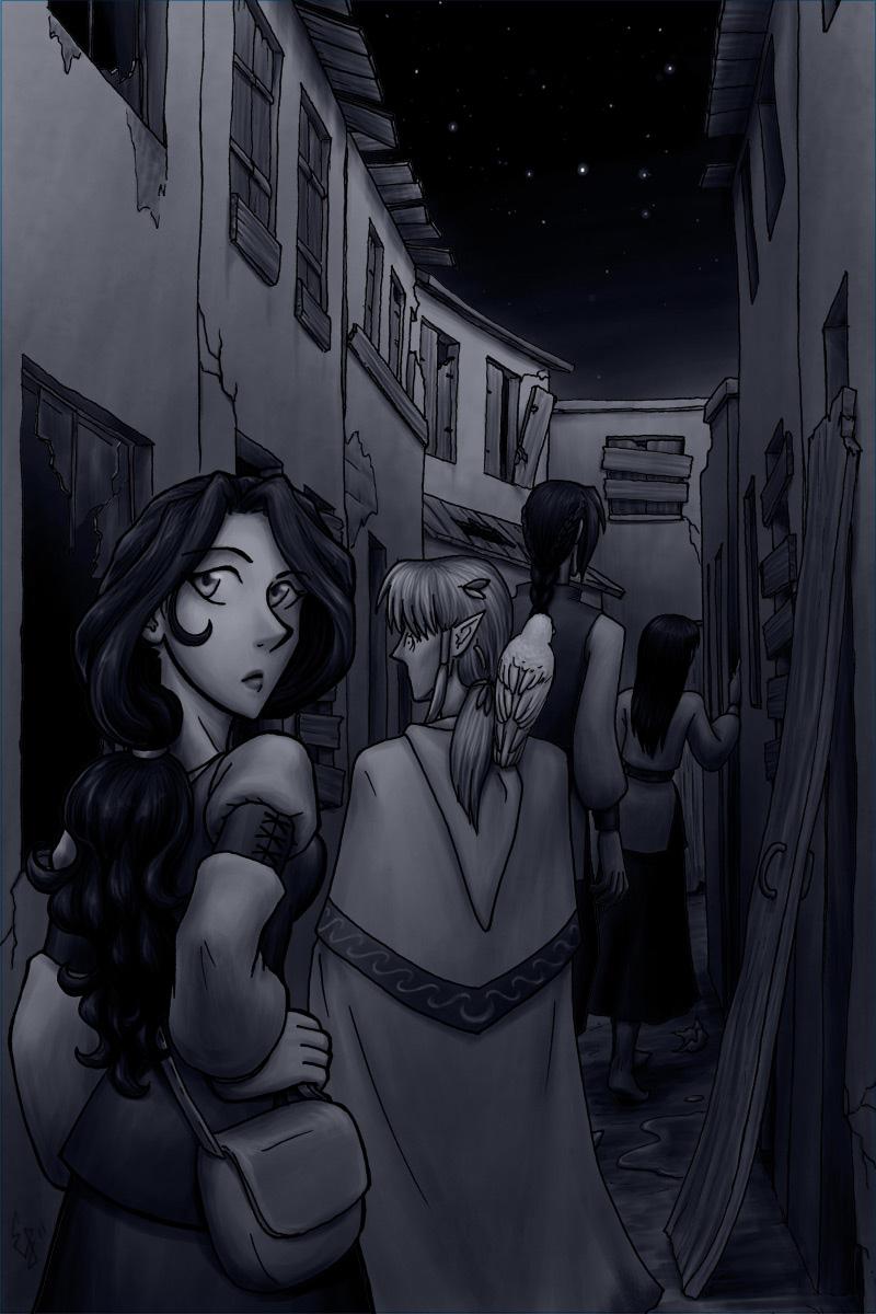 Tamuran Chapter 3 Cover Art by ansuz
