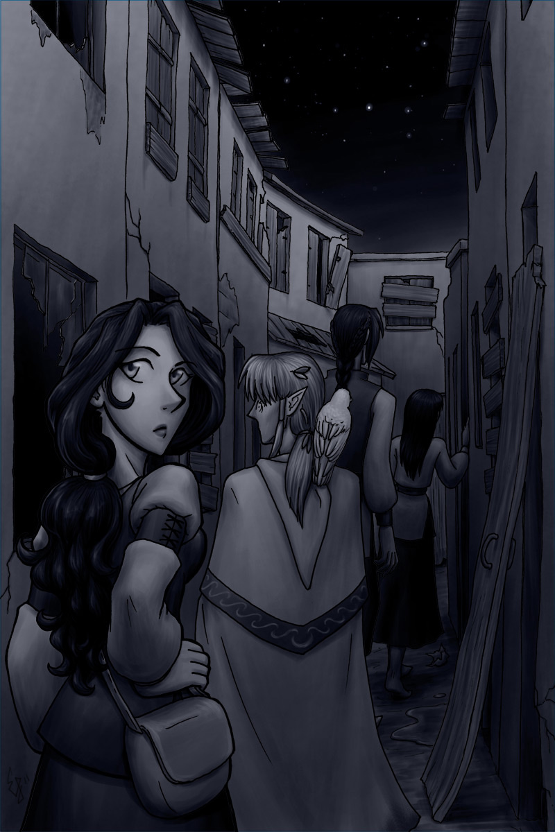 Tamuran Chapter 3 Cover Art