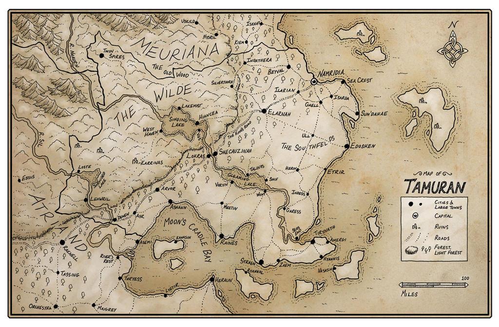 Tamuran map