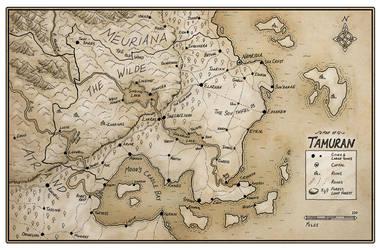 Tamuran map by ansuz