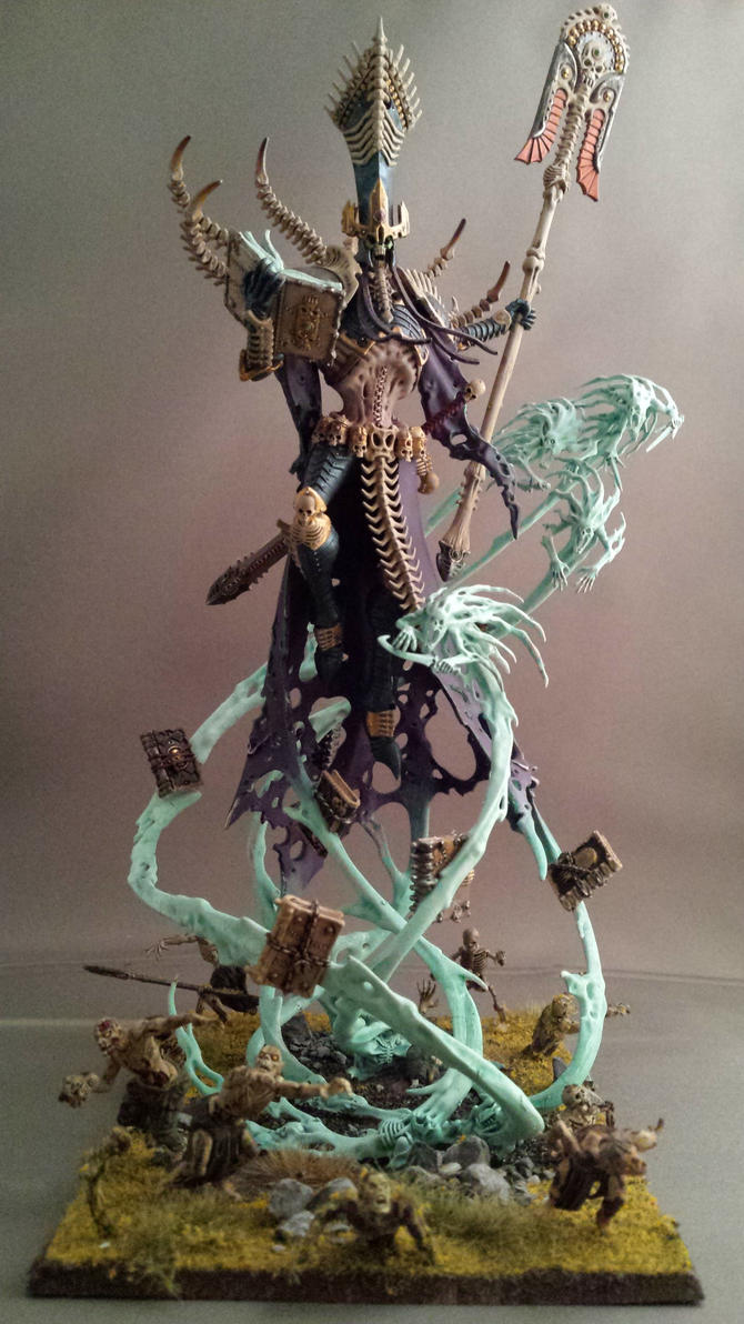 Nagash supreme lord of the undead by diejango