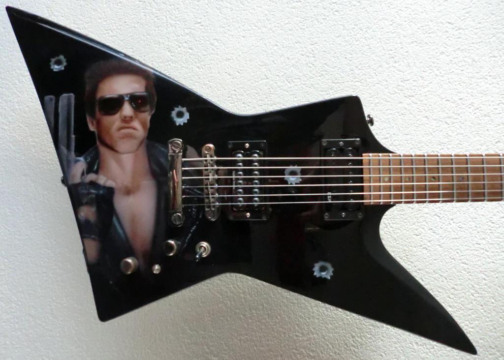 Terminator Guitar by diejango