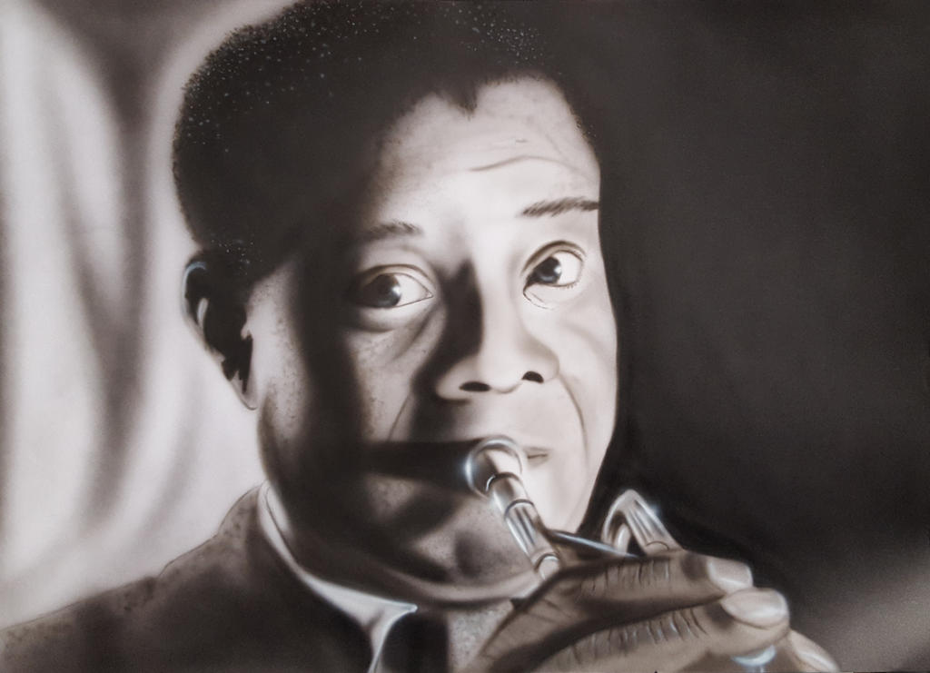 Louis Armstrong by diejango