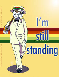 I'm still standing ft.Sans by Red-Matter
