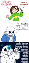 Skeleton Monster by Red-Matter