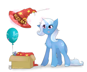 Trixie's gift for Starlight by FlySoulDragon