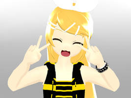 MMD - Blossom Rin DL by YellowDesuCake