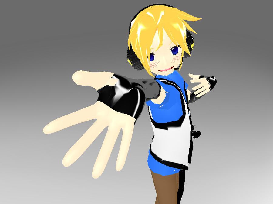 MMD - HS Len 96Neko Ver DL by YellowDesuCake