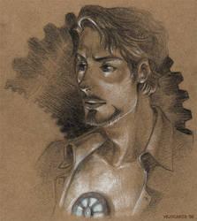 Tony Stark: Heart of Steel by vejiicakes