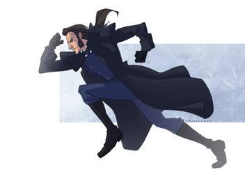 Inspector Javert (LesMis Extended Visual Petition) by vejiicakes