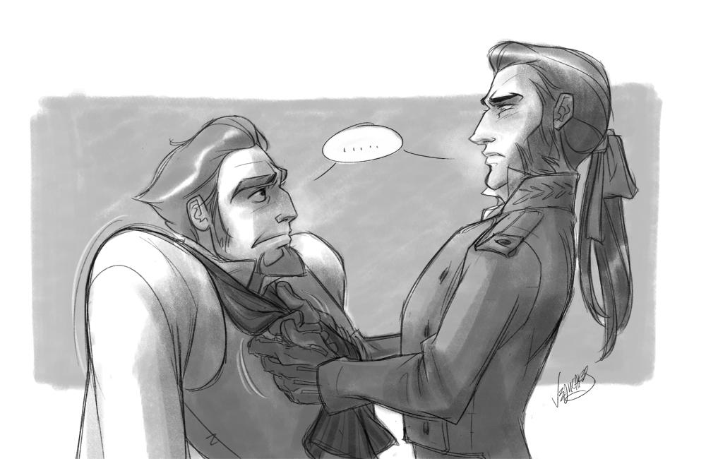 javert and valjean meet the robinsons