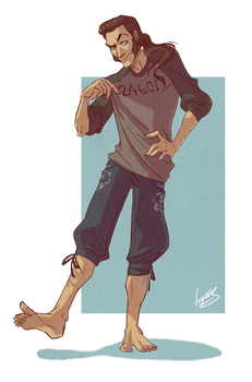 [LesMis] Javert, fave chara in your clothes MEME