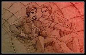 [Avengers] Steve/Tony, 'Tunnel o' Love' (old)