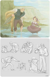 [LesMis] the cure for everything is salt water by vejiicakes